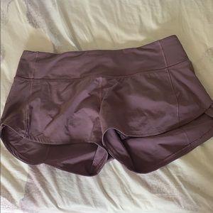 maroon lulu lemon shorts